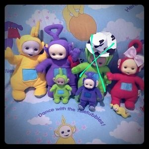 Teletubbies Set Vintage from 1999